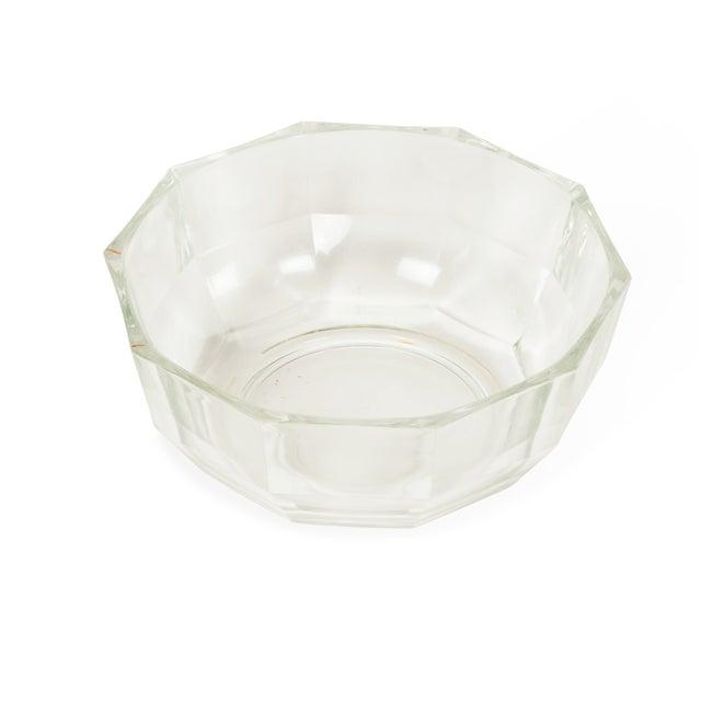 1960s Italian Crystal Decagonal Bowls - A Pair - Image 6 of 8