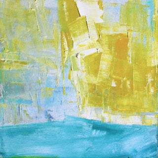 Paul Ashby Abstract Original Oil Painting