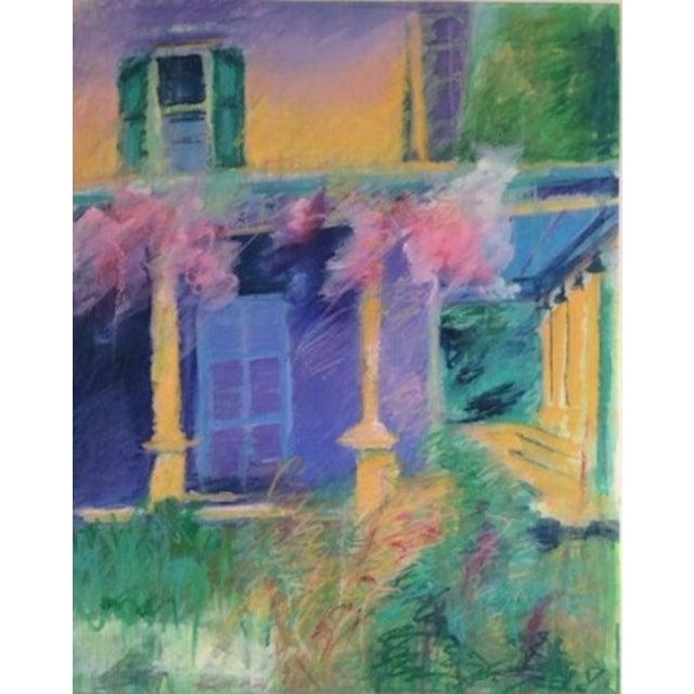 Barbara Borck-Hart Oil Pastel - Untitled #1 - Image 1 of 4
