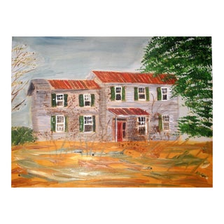 House on Nesbit Road Painting