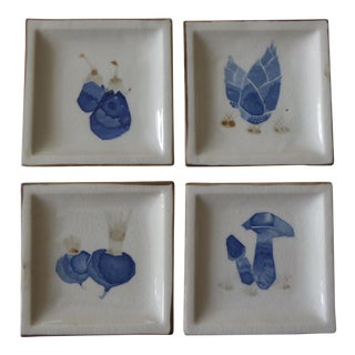Vintage Ceramic Dipping Dishes - Set of 4