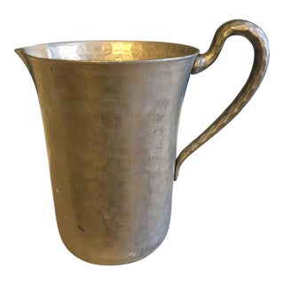 Vintage Forged Aluminum Pitcher