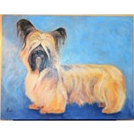Image of Yorkshire / Skye Terrier Acrylic Painting