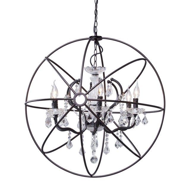 Gyro Crystal Chandelier - Image 1 of 4