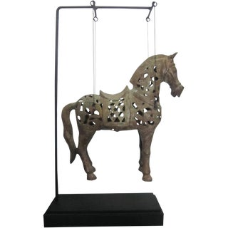 Hanging Horse on Stand