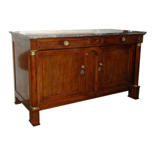 French Walnut Directoire Buffet