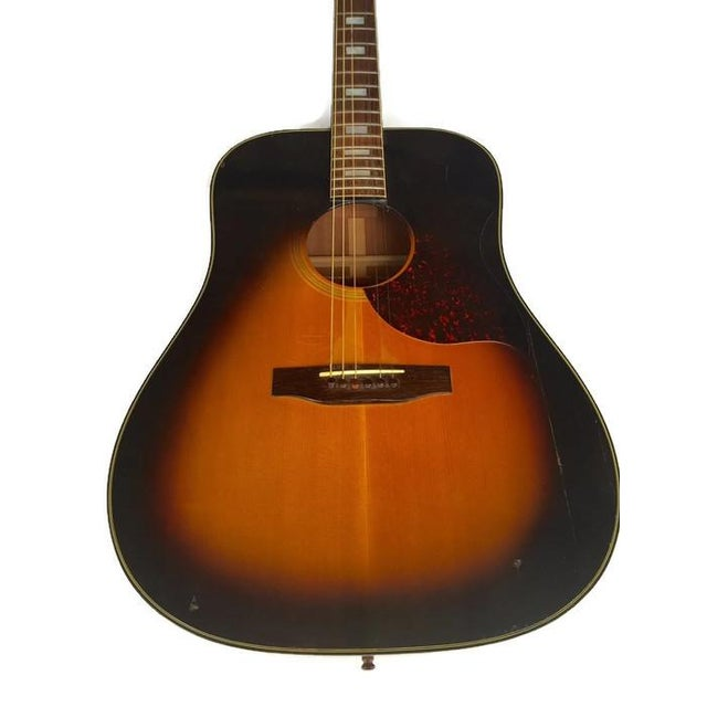 Vintage 1960s Gibson Acoustic Guitar - Image 4 of 10