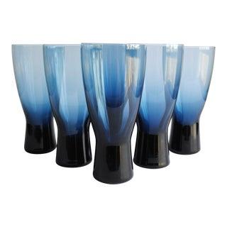 "Mid-Century 6.5"" Highball Glasses- Set of 6"