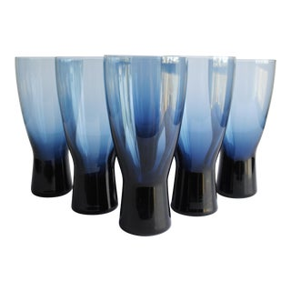 Mid-Century Highball Glasses- Set of 6