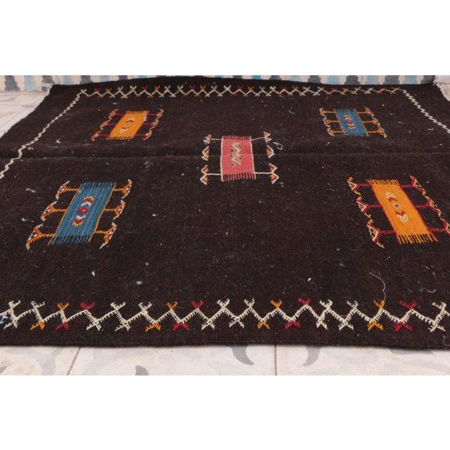 "Aknif Moroccan Rug - 3'3"" x 3'6"" - Image 3 of 4"