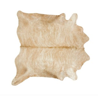 Honey Cowhide Throw - 6' x 7'6""