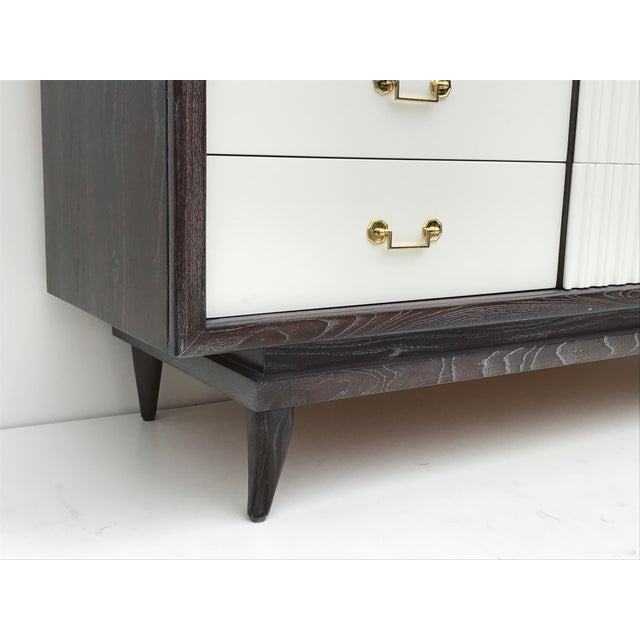 Mid Century Cerused Oak Dresser by American of Martinsville - Image 5 of 9