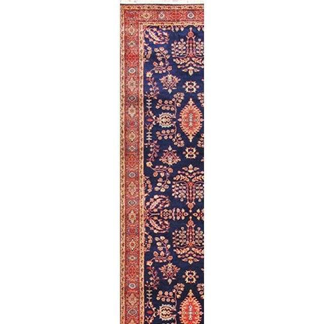 Image of Traditional Pasargad Sarouk Runner - 2′7″ × 11′6″