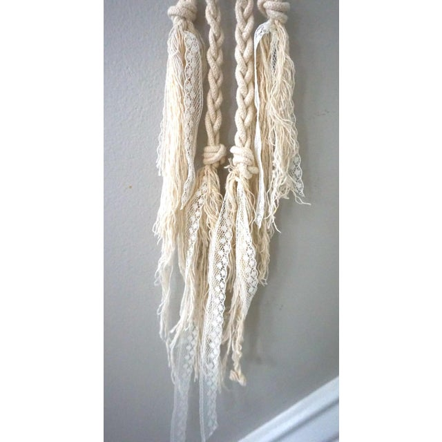 Boho Macrame Wall Hanging - Image 6 of 11