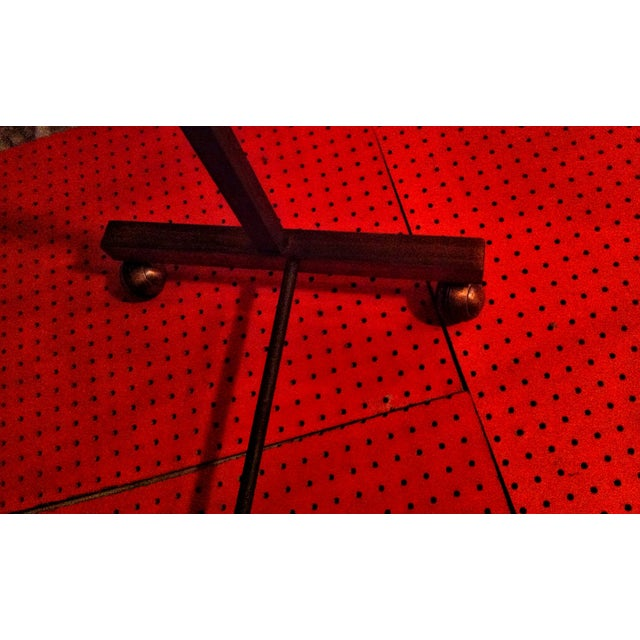 Image of Industrial Two Tier Copper Rack Stand