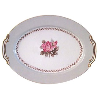 Noritake Rosemont Gilded Serving Platter