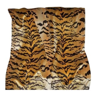 Scalamandre Le Tigre Silk Velvet Fabric - One Yard