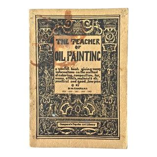 1936 the Teacher of Oil PaintingBook
