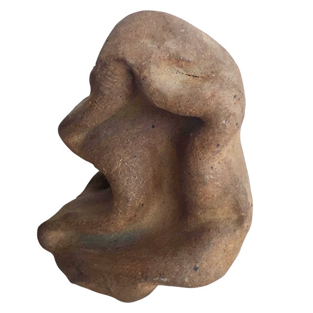 Terracotta Free-Form Sculpture - Image 1 of 9