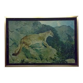 Puma Print by Carl Runingus