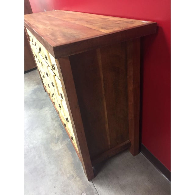 Image of Antique Apothecary Cabinet - Eco-Friendly Reclaimed Solid Wood