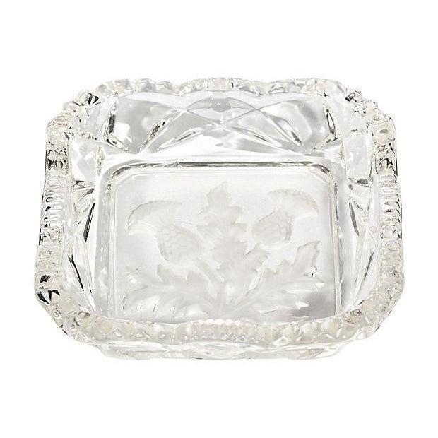 Thistle Glass Square Trinket Dish - Image 1 of 3