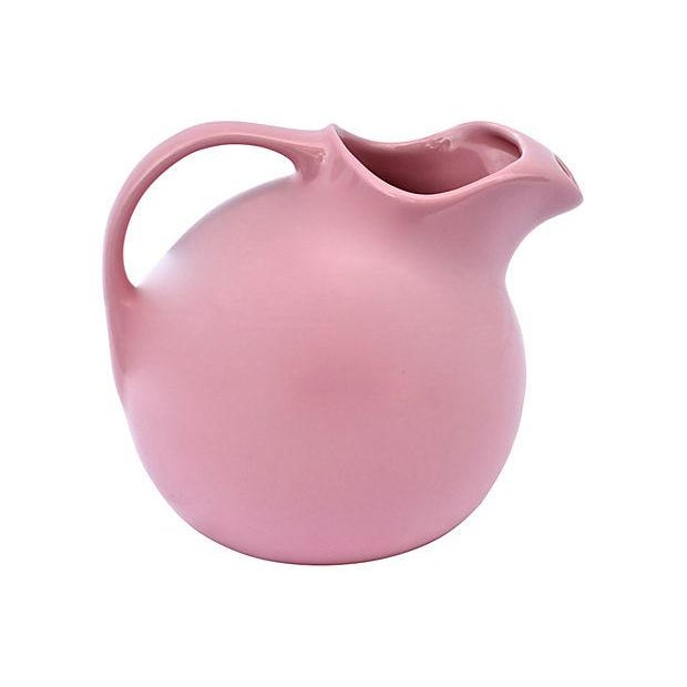 Pink Globe Beverage Pitcher - Image 2 of 6