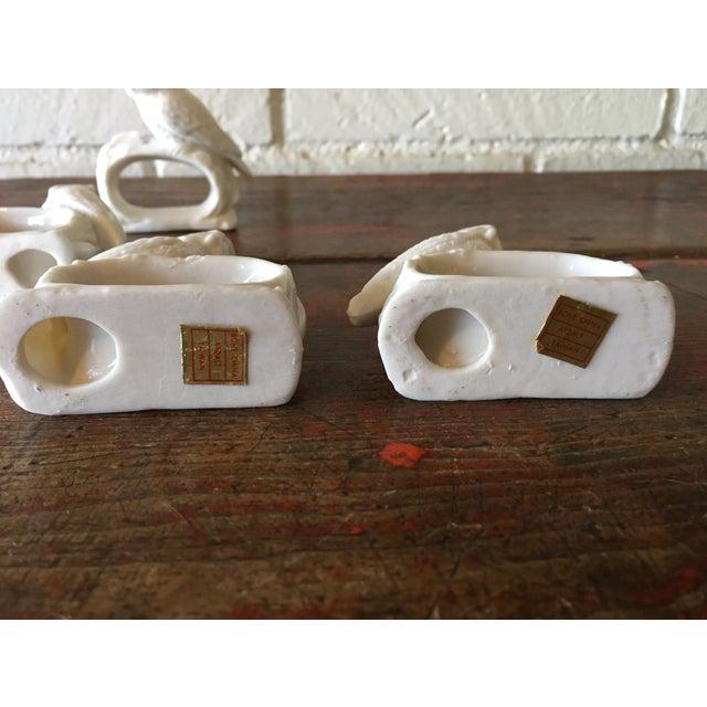 Bone China Owl Napkin Rings - Set of 4 - Image 5 of 5