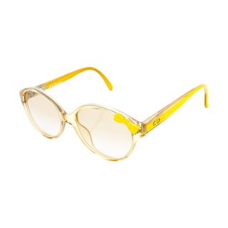 Christian Dior Yellow Bow Sunglasses