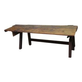 Vintage Handmade Work Bench