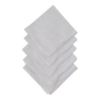 Traditional Cocktail Napkins - Set of 5