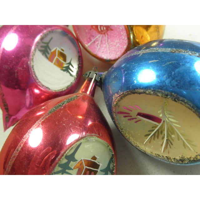 Polish Scenic Teardrop Ornaments - Set of 6 - Image 3 of 4