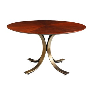 Osvaldo Borsani for Stow & Davis Round Starburst Table