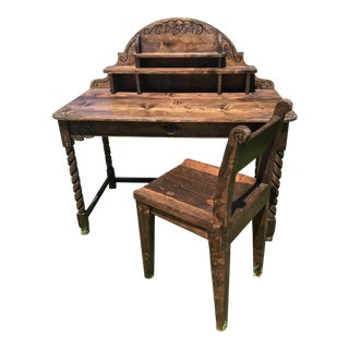 Custom Dia-De-Los-Muertos Writing Desk