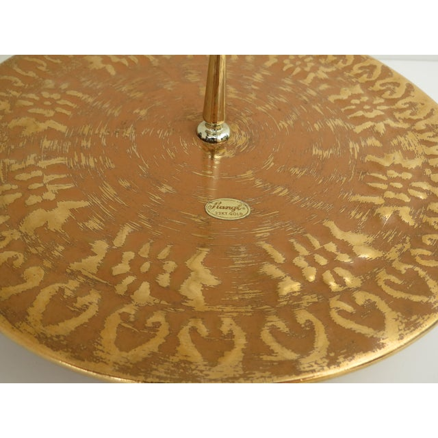 Stangl 22k Gold Serving Tray - Image 4 of 6