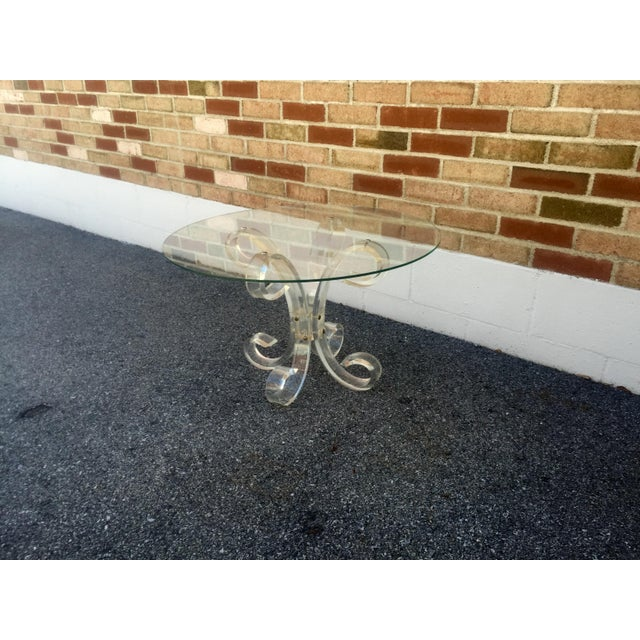 1960's Lucite Cocktail Table - Image 2 of 7