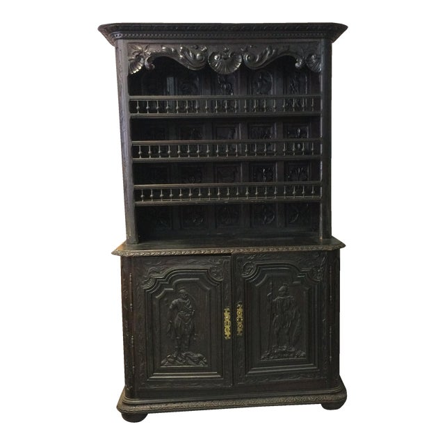 Cabinet - Antique Cabinet Circa 1850 - Image 1 of 10