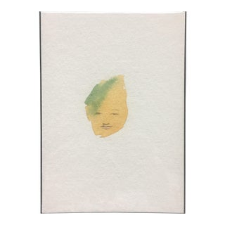 Minimalist Abstract Face Watercolor