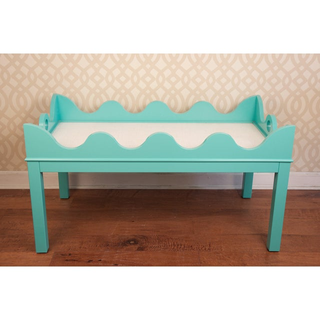 Oomph Hobe Sound Turquoise Coffee Table Chairish