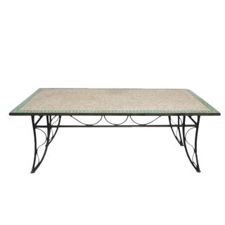 Mosaic Tile Dining Table