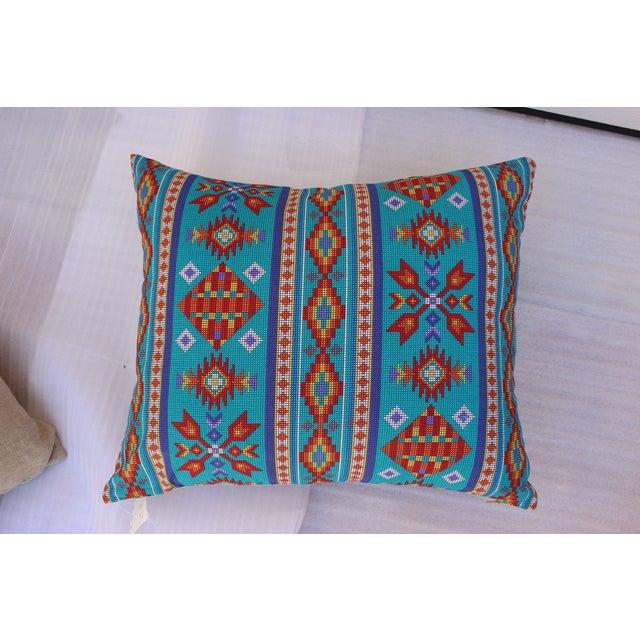Southwestern Turquoise Pillows - Pair Chairish