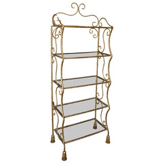 French Gilt Brass Etagere