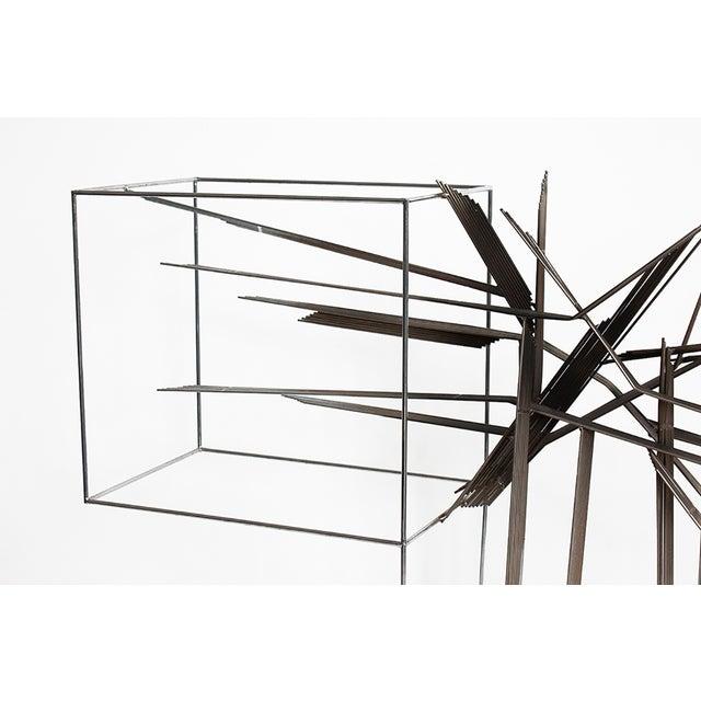 Curtis C Jere Chrome Burst Brutalist Sculpture - Image 4 of 10