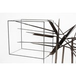Image of Curtis C Jere Chrome Burst Brutalist Sculpture