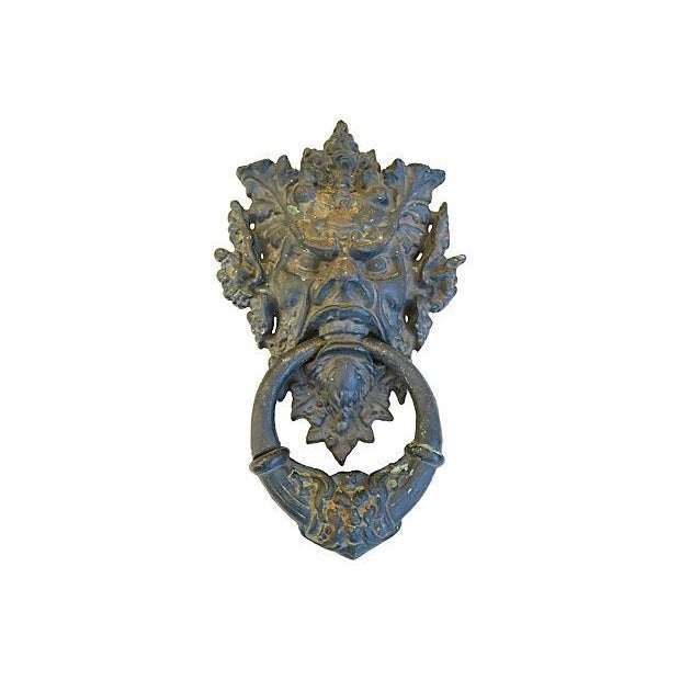 Vintage Large Mythical Creature Door Knocker - Image 1 of 7