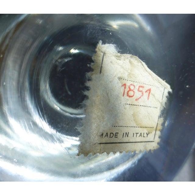 Mid-Century Modern Murano Glass Crystal Ball - Image 6 of 7