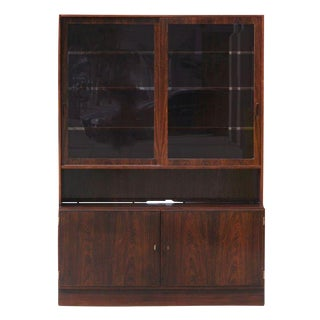 Poul Hundevad Danish Teak Buffet With Hutch