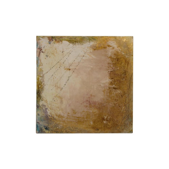 Mixed Media 'Golden Skies' Painting - Image 1 of 5