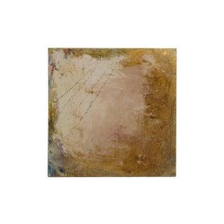 Mixed Media 'Golden Skies' Painting