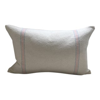 """Vintage French Textile Pillow Cover - 16"""" x 20"""""""
